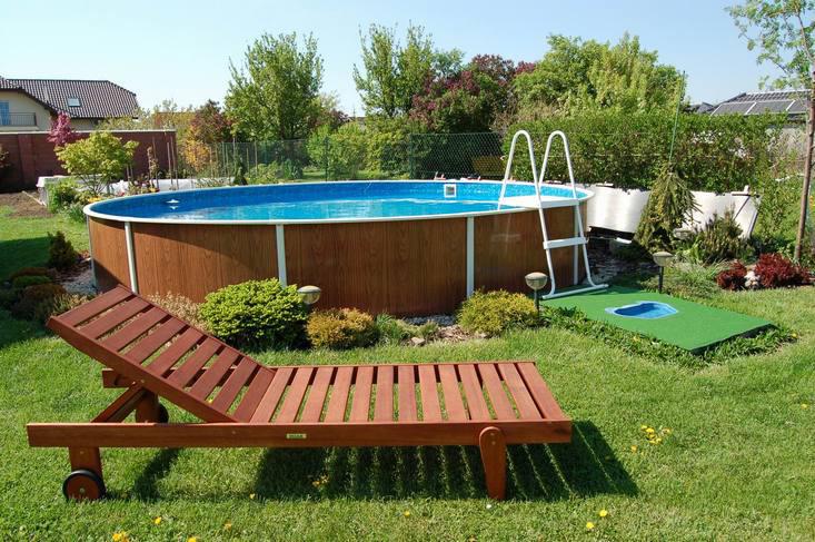 Как бассейн на даче